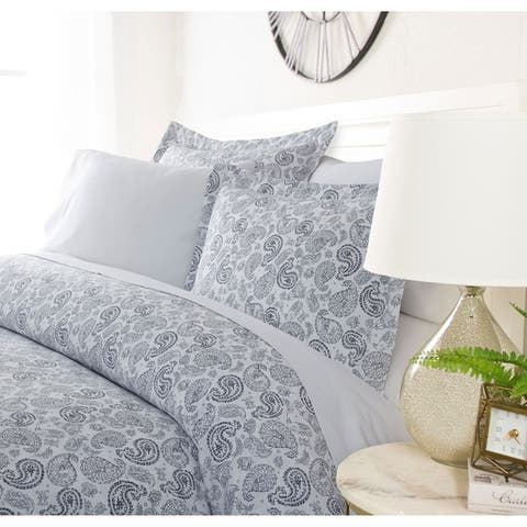 Luxury Distressed Paisley Duvet Cover Set by Sharon Osbourne Home