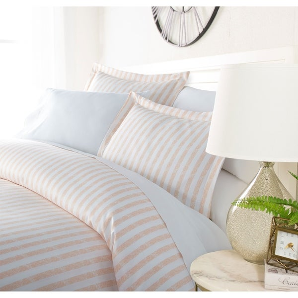 Luxury Rustic Ribbon 3 Piece Duvet Cover Set by Sharon Osbourne Home. Opens flyout.