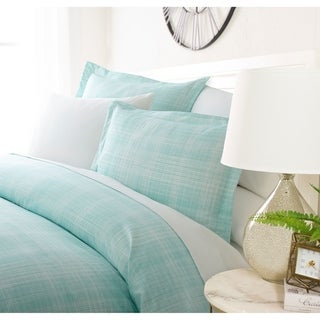 Link to Luxury Crosshatch 3 Piece Duvet Cover Set by Sharon Osbourne Home Similar Items in Duvet Covers & Sets