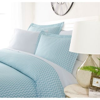 Link to Luxury Bowed Chevron 3 Piece Duvet Cover Set by Sharon Osbourne Home Similar Items in Duvet Covers & Sets