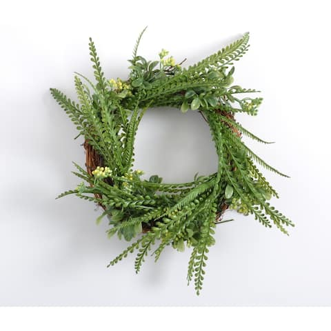 Whimsical Faux Wreath