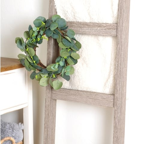 Gains Farm Faux Eucalyptus Wreath