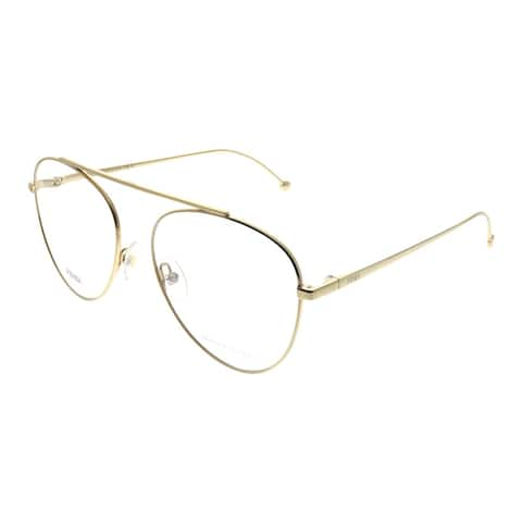 553cd4faf451f Fendi FF 0352 J5G 56mm Womens Gold Frame Eyeglasses 56mm
