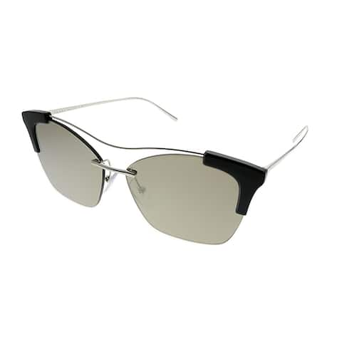 ea86b5e566 Prada Conceptual PR 21US GAQ1C0 Womens Silver Frame Brown Mirror Gold Lens  Sunglasses
