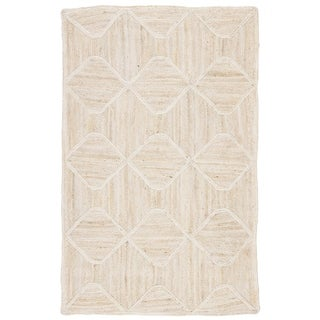 Link to Carson Carrington Ubby Transitional Jute Natural Trellis Area Rug Similar Items in Transitional Rugs