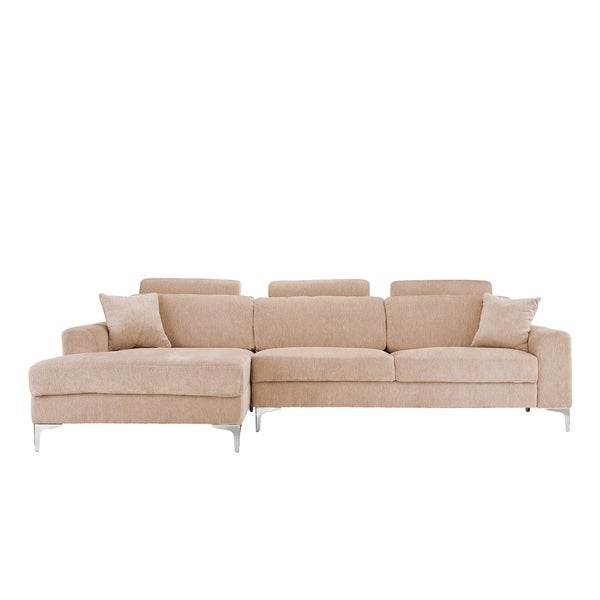 Shop Modern Large Sectional Sofa with Wide Chaise Lounge ...