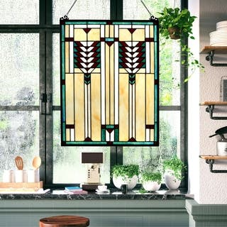 Buy Mission Craftsman Stained Glass Panels Online At