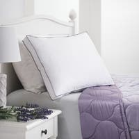 Aromatherapy Lavender Scented All Cotton Down-Alternative Pillow - White