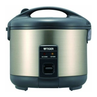 Link to Tiger JNP-S15U Stainless Steel 8-Cup Conventional Rice Cooker (Urban Satin) Similar Items in Kitchen Appliances