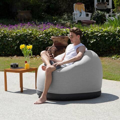 Jaxx Palmetto Sunbrella Bean Bag Patio Chair