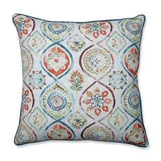 Pillow Perfect Madrid Pottery Throw Pillow