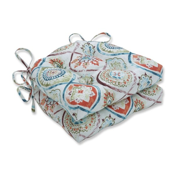 Madrid Pottery Reversible Chair Pad (Set of 2)
