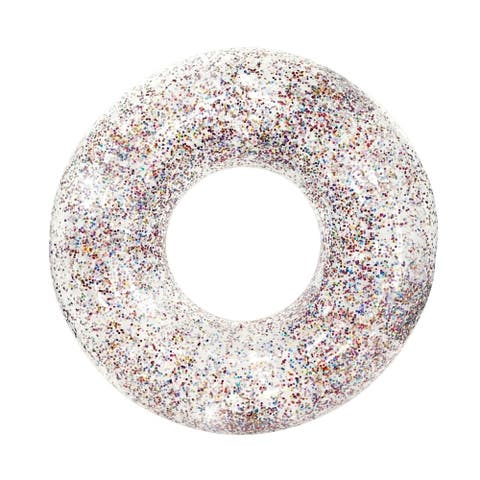 "Glitter Pool Tube 48"" - Multicolor Glitter"