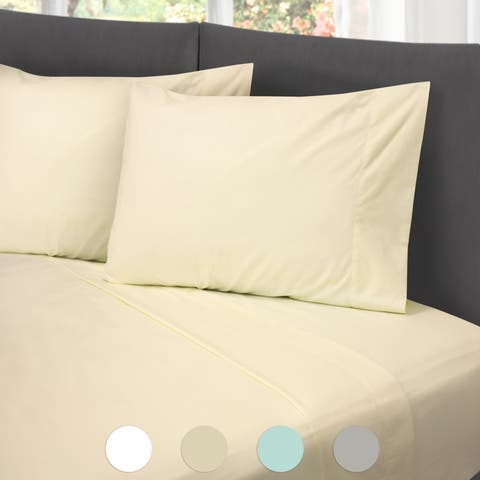 Hotel Laundry Cotton Rich Wrinkle-Free Hypoallergenic Hotel Sheet Set