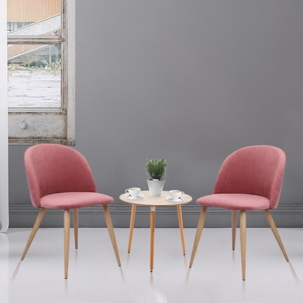 . Shop Set of 2 Dining Chairs Living Room Side Chair Guest Chair