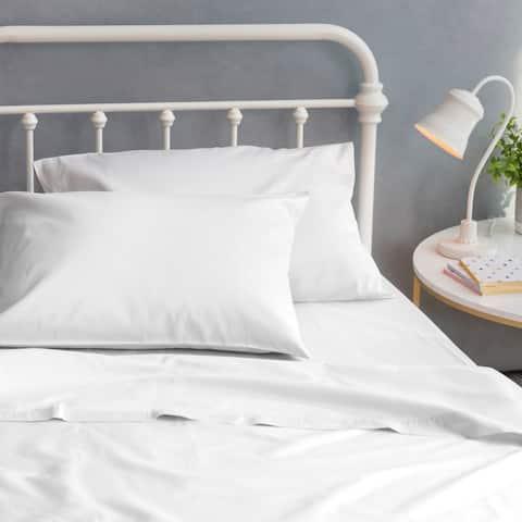 Porch & Den Marko Organic Cotton Sateen Bed Sheet Set
