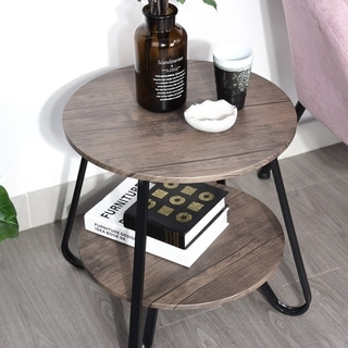 Carbon Loft Joelle Round Coffee Table