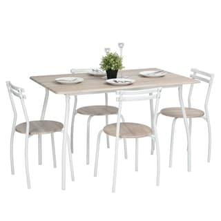 The Gray Barn Larken Wood and Metal 5-piece Dining Set