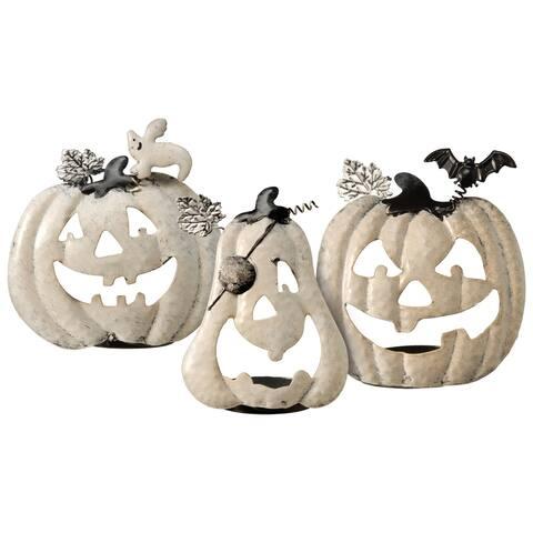 3-Piece Pumpkin Candleholder Assortment