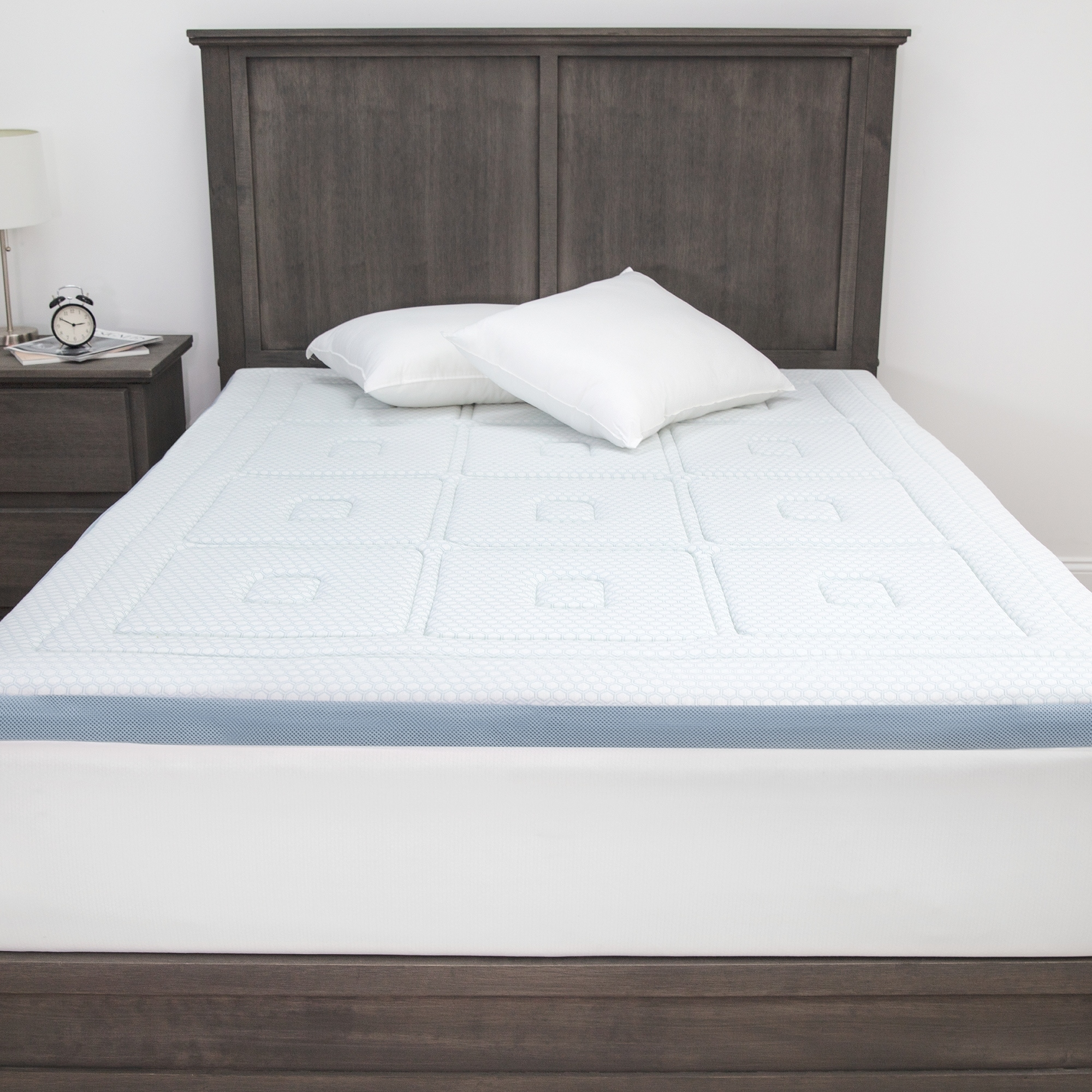 Dream Serenity Gel Memory Foam 3 Mattress Topper 1 Each Twin