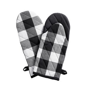 Link to The Gray Barn Emily Gulch Buffalo Check Oven Mitt Pair Similar Items in Cooking Essentials