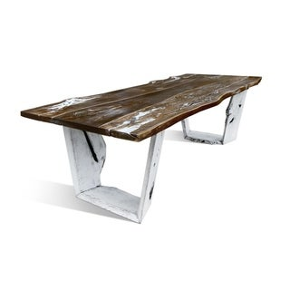 RUBAN IQ Dining table - Aged Oak