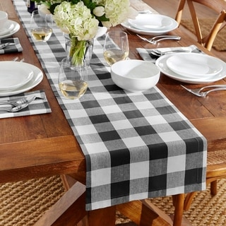 Link to The Gray Barn Emily Gulch Buffalo Check Table Runner Similar Items in Classic Rugs