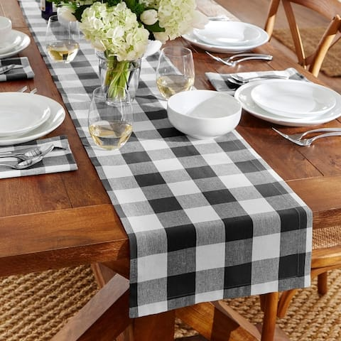The Gray Barn Emily Gulch Buffalo Check Table Runner