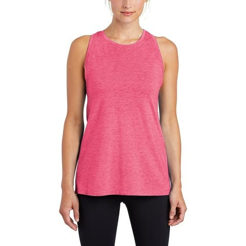 Sport-Tek Ladies Posicharge Tri-Blend Wicking Tank