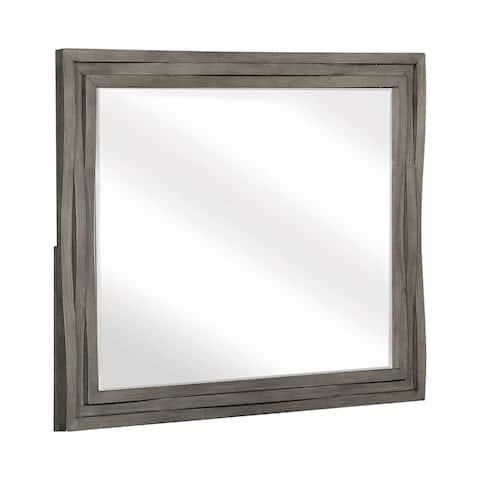 The Gray Barn Pegasus Dark Taupe Mirror