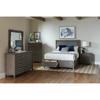 Carson Carrington Salabackar Dark Taupe 4-piece Bedroom Set