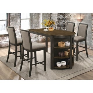 Copper Grove Orleans Charcoal 5-piece Counter-height Dining Set