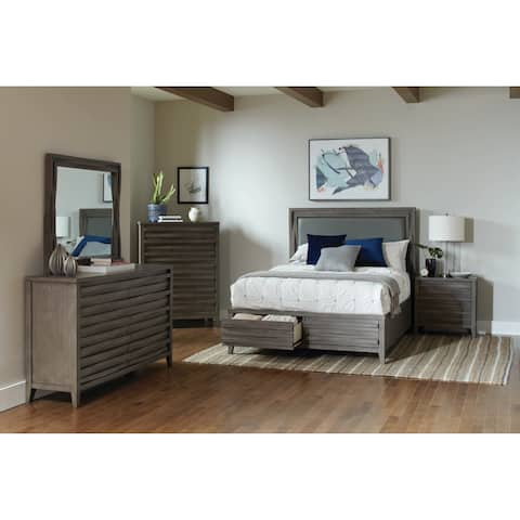 The Gray Barn Pegasus Dark Taupe 5-piece Bedroom Set
