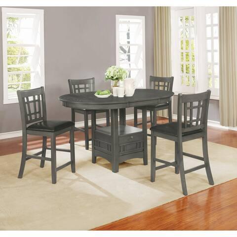 The Gray Barn Bracken Hill Medium Grey 5-piece Counter Height Dining Set