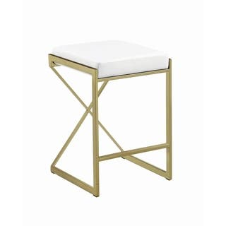 Pleasing Buy Gold Finish Counter Bar Stools Online At Overstock Evergreenethics Interior Chair Design Evergreenethicsorg
