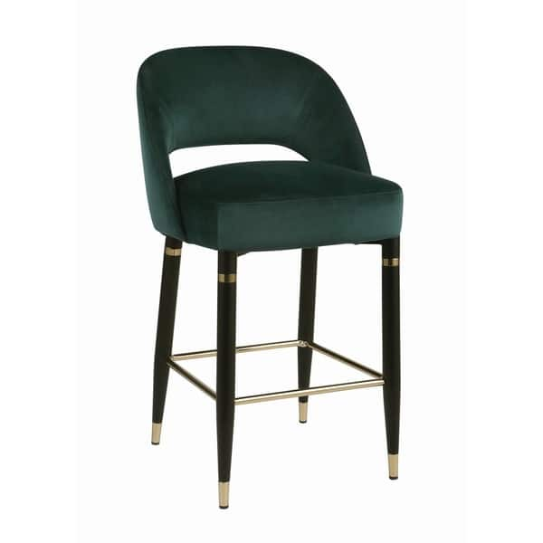 Amazing Shop Silver Orchid Arlen Upholstered Counter Height Stools Squirreltailoven Fun Painted Chair Ideas Images Squirreltailovenorg