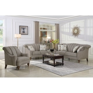 The Gray Barn Crooked Sky Light Brown 3-piece Living Room Set