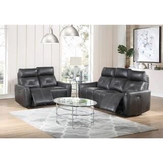 Copper Grove Argenteuil Charcoal 2-piece Power Living Room Set