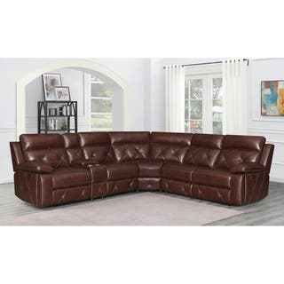 Buy Modular, Leather Sectional Sofas Online at Overstock ...