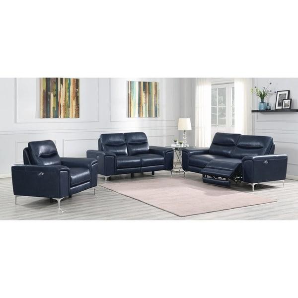 Strick & Bolton Lemoine 3-piece Power Living Room Set
