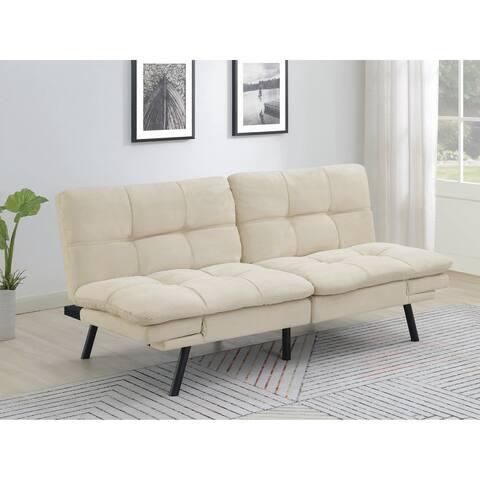 "Strick & Bolton Jana Upholstered Sofa Bed - 70"" x 33.25"" x 31.50"""