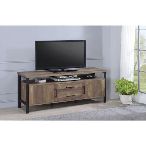 Carbon Loft Corvalan Rustic Oak 59-inch TV Console