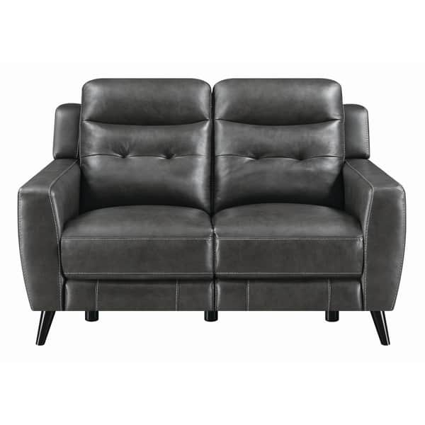 Swell Shop Strick Bolton Celine Upholstered Power Loveseat 60 Machost Co Dining Chair Design Ideas Machostcouk