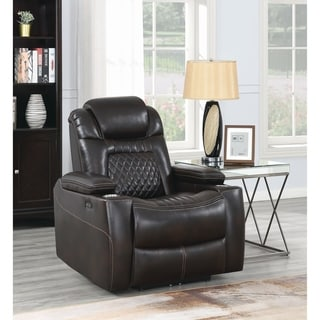 Copper Grove Bendorf Upholstered Power Lay-flat Recliner