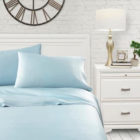 Luxury Ultra Soft Bamboo Bed Sheet Set by Sharon Osbourne