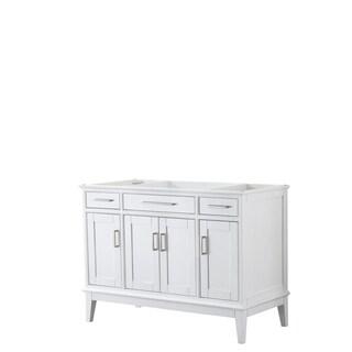 Margate 48-inch Single Vanity Cabinet, No Mirror