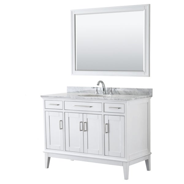 Shop Wyndham Collection Margate Wood 48-inch Single Vanity ...