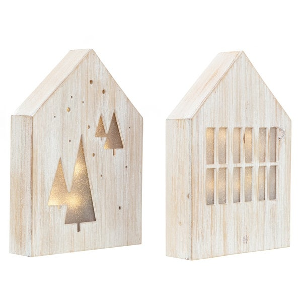 kieragrace KG Juniper LED Light Box - Set of 2 - Holiday Decor