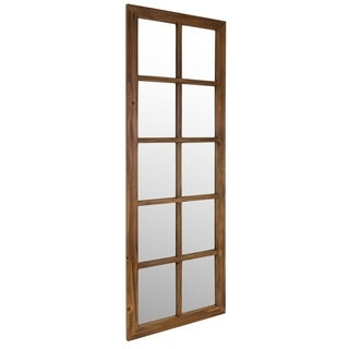 kieragrace Muskoka Vang Walnut Finish Decor Mirror
