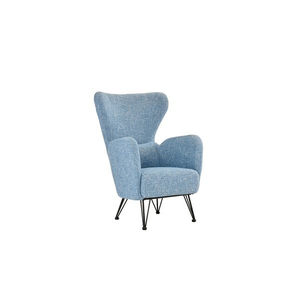 Outstanding Shop Mid Century Fabric Accent Arm Chair Free Shipping Caraccident5 Cool Chair Designs And Ideas Caraccident5Info